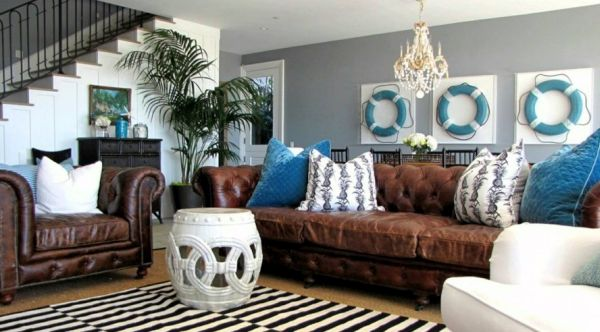 living room with a beach theme 1