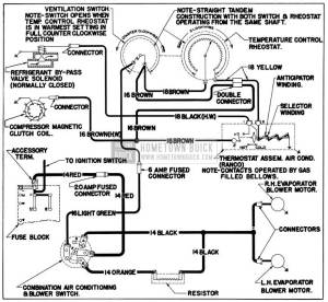 1955 Buick Wiring Diagrams  Hometown Buick