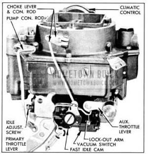 1956 Buick Carter 4barrel Carburetor  Hometown Buick