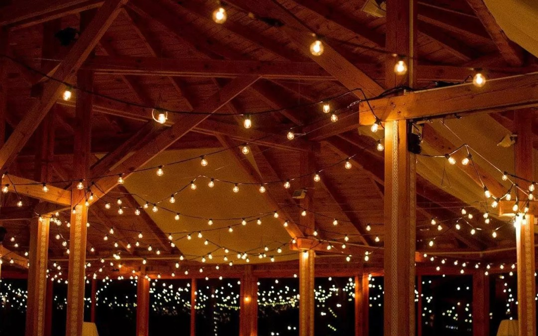 Your Patio String Lights Are Famous