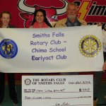 Rotary makes donation to CHIMO public school