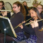 Notre Dame Catholic High School band supports local hospital for 10th year
