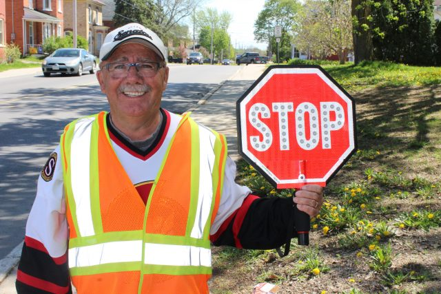 Crossing Guard Gary Lackie