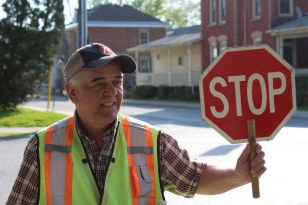 Crossing Guard Peter Krissilas