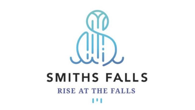 Smith Falls logo and slogan.
