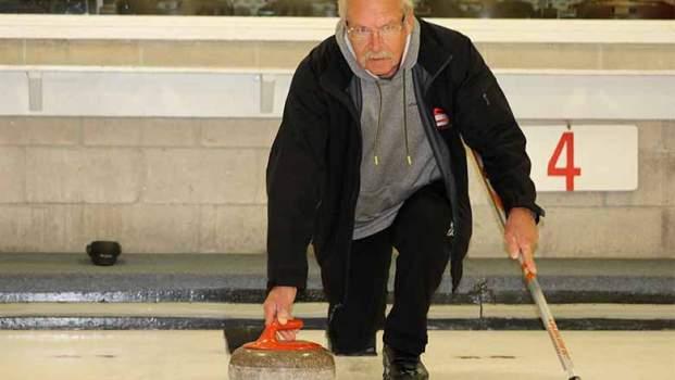 Jim McVeety curling.