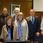 "Smiths Falls councillors ""tie one on"" for Alzheimer Month"