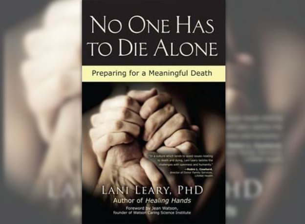 No One Has to Die Alone book cover.