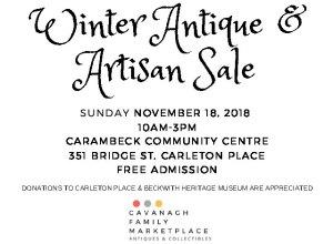Winter Antique & Artisan Sale
