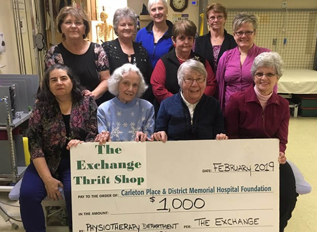 The Exchange Thrift Shop support local hospital.