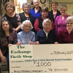 The Exchange Thrift Shop supports the hospital