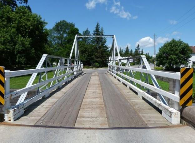 Burritts Rapids Swing Bridge