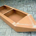 Councillors challenged in cardboard boat race