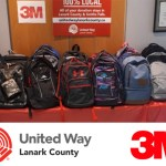 3M Canada & United Way Lanark County Backpack Drive Returns!