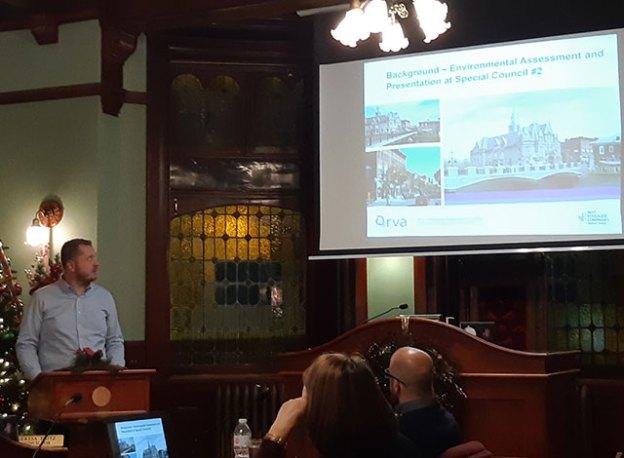 Presentation at CP Council