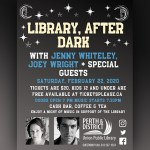 Library After Dark: Live music with Jenny Whiteley & Joey Wright