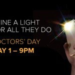 "Ontarians asked to ""Shine a Light for All They Do"" May 1 in a province-wide show of appreciation on Doctors' Day"