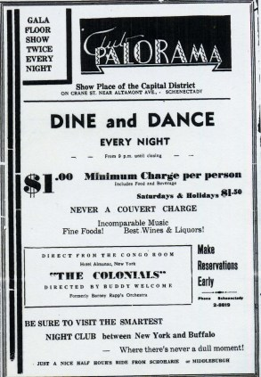 Club Palorama Ad