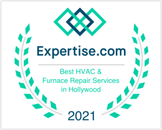 expertise.com best hvac repair services in hollywood award