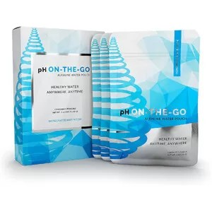 pH On-the-Go Alkaline Water Filter Pouches