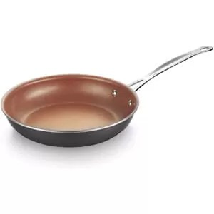 AMERICOOK 12 Inch Copper Non-Stick Frying Pan