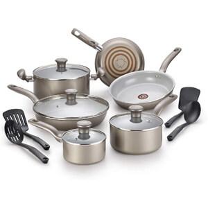 T-fal G919SE64 Initiatives Ceramic Cookware Set