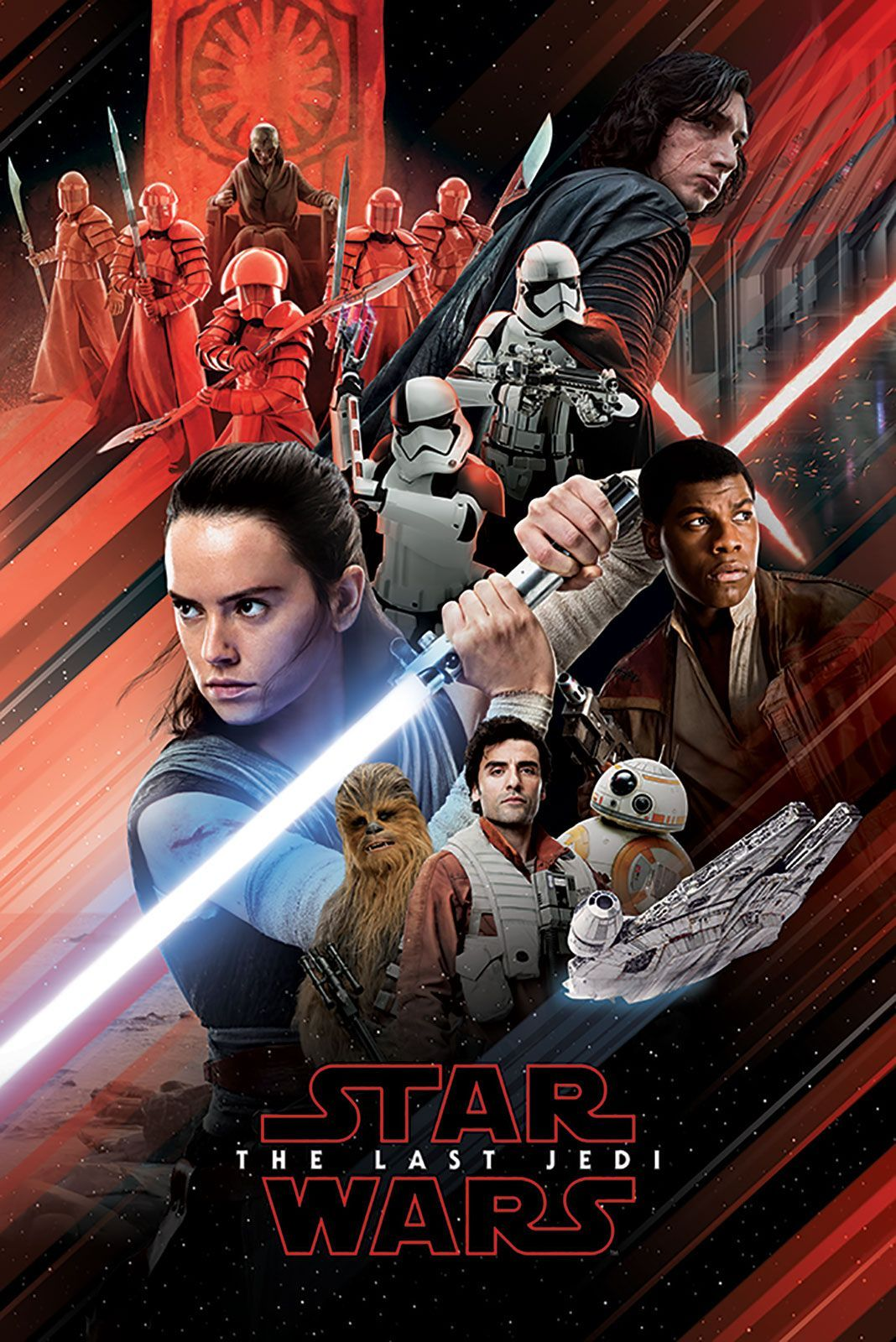 star wars characters 61x91 5cm movie posters