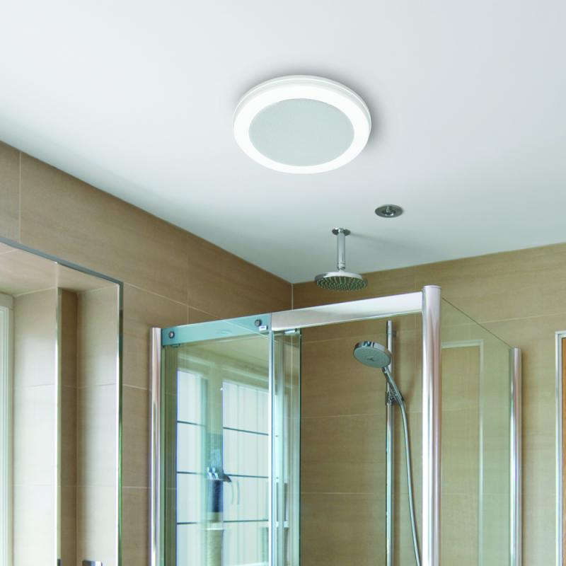 bath fan with bluetooth speaker led