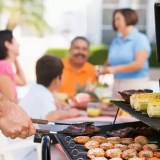 Build an Inexpensive Grilling Area with Stepping Stones