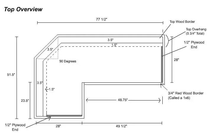 Easy Home Bar Plans Printable Pdf Designs