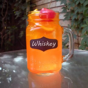 Orange Kool Aid Cocktail with Whiskey