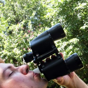 Binoculars Hidden Flask