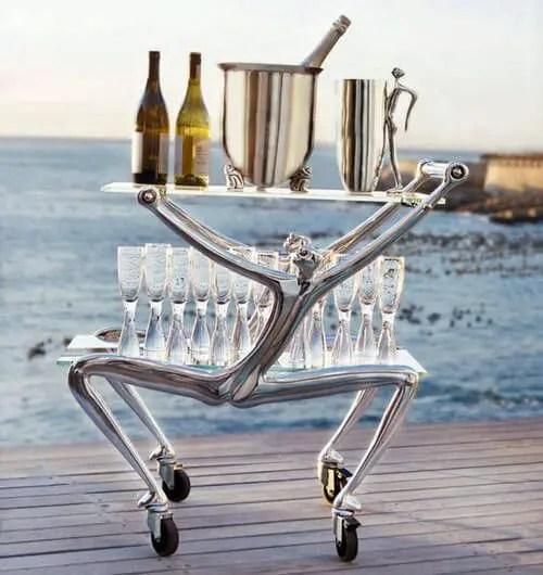 Silver Bar Carts