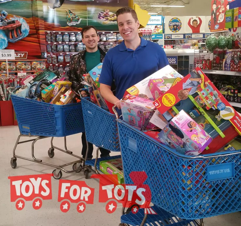 Toys for Tots Donate Toys