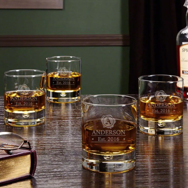 Custom Bourbon Glassware