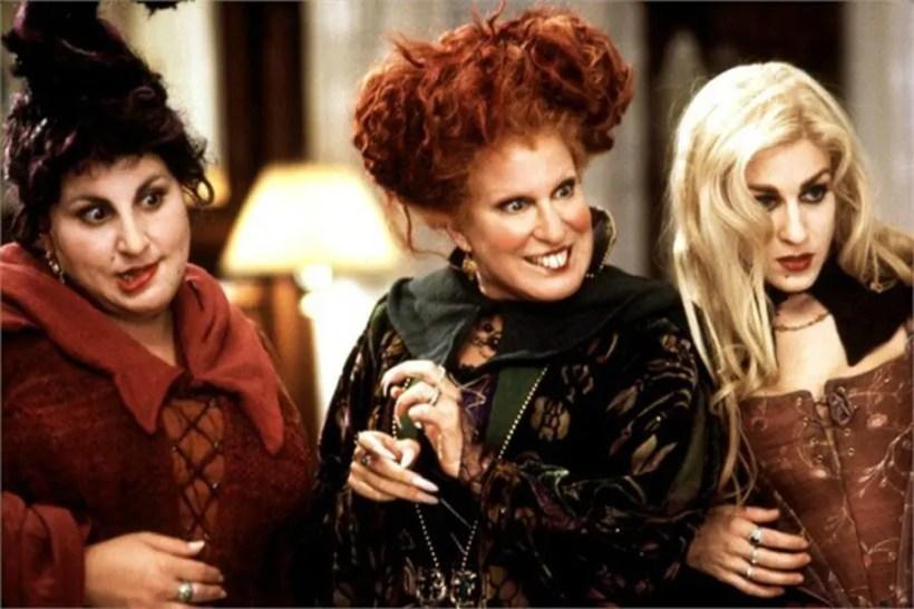 HOCUS POCUS, Kathy Najimy, Bette Midler, Sarah Jessica Parker, 1993