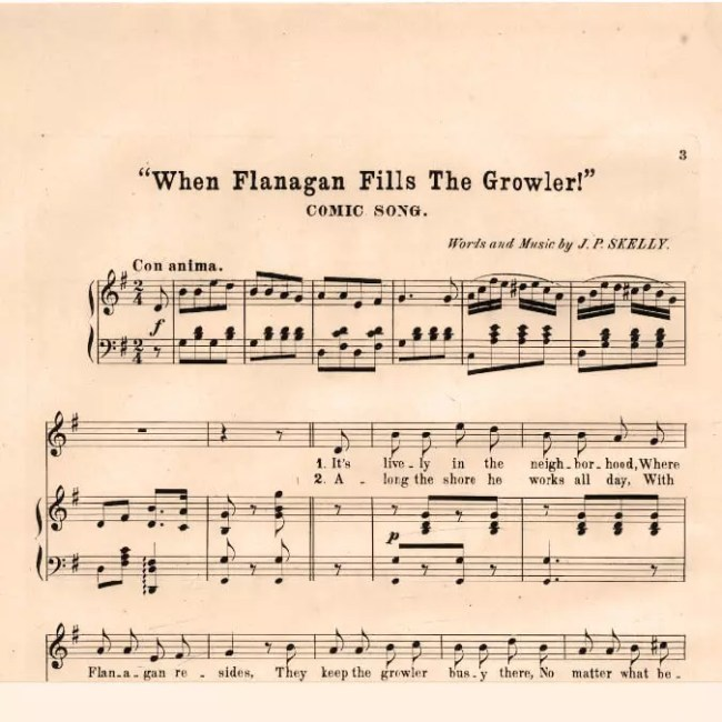 When Flanagan Fills the Growler