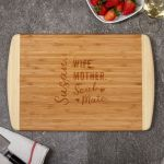 Found My Soul Mate Natural Bamboo Customized Cutting Board Gift For Women