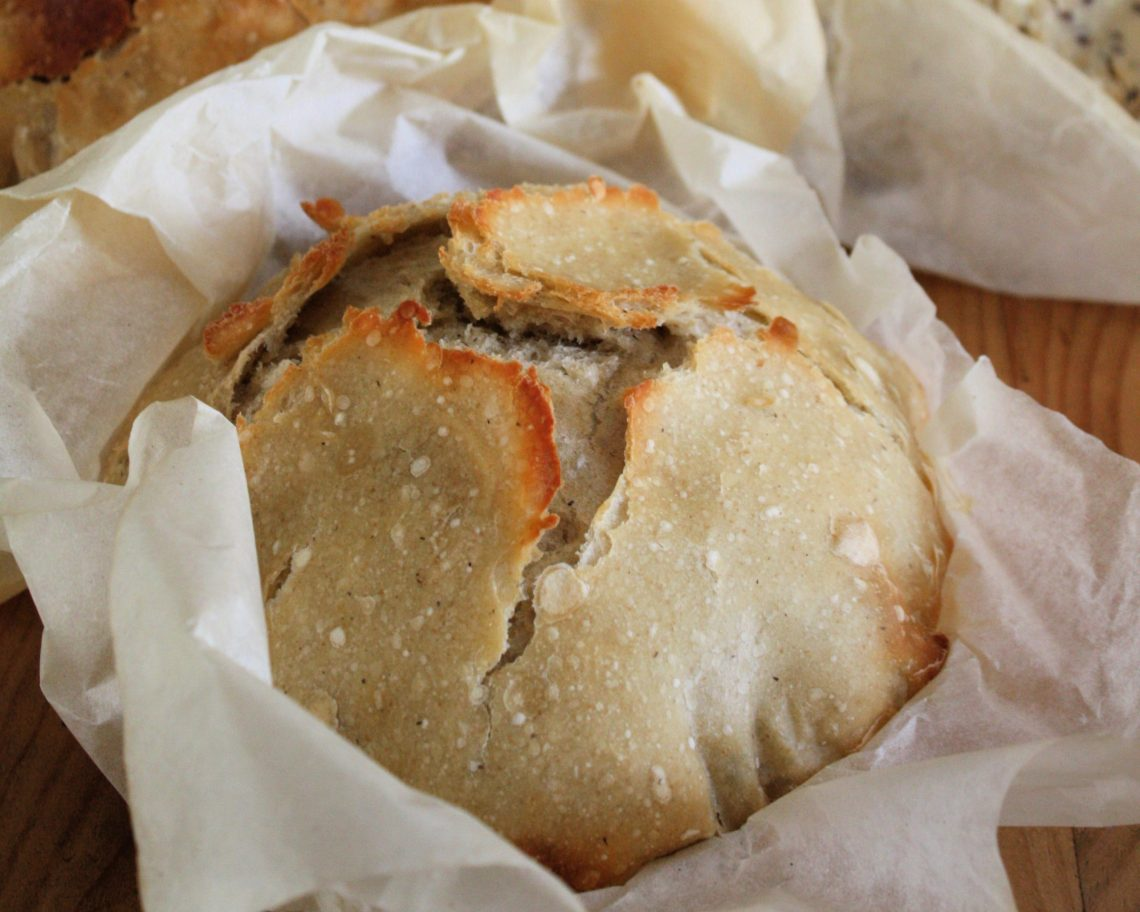 Crusty Peasant Bread