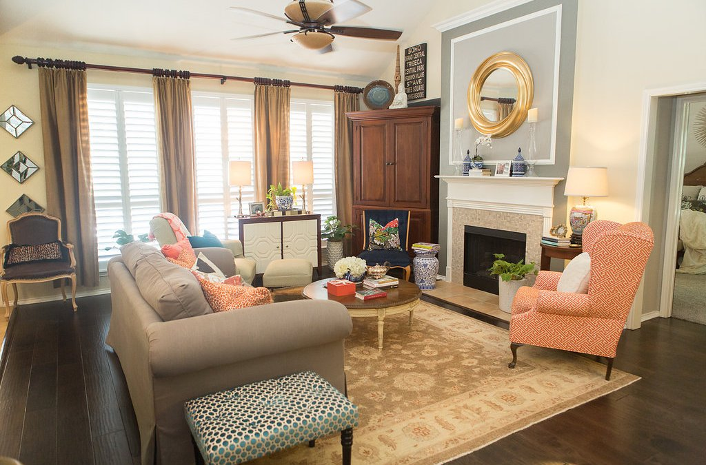 Home Tour:  The Family Room