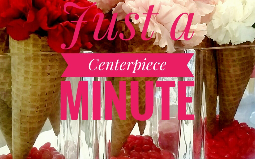How to Create An Easy Valentine's Day Flower Centerpiece