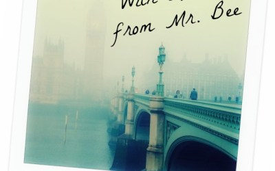 With Love, From Mr. Bee:  Postcards from England