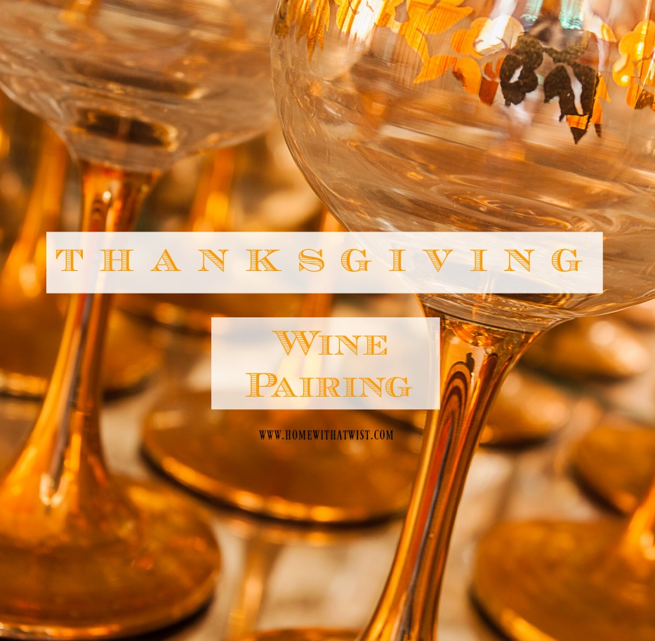 Thanksgiving and Wine Pairing