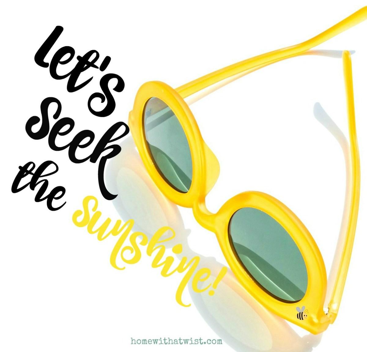 2019 Mantra – Seek My Sunshine!