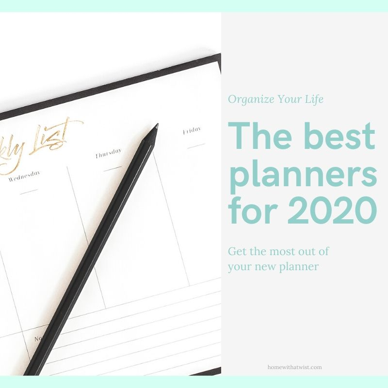 Best Planners for 2020