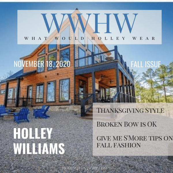 What Would Holley Wear: Giving Thanks in Broken Bow, Oklahoma
