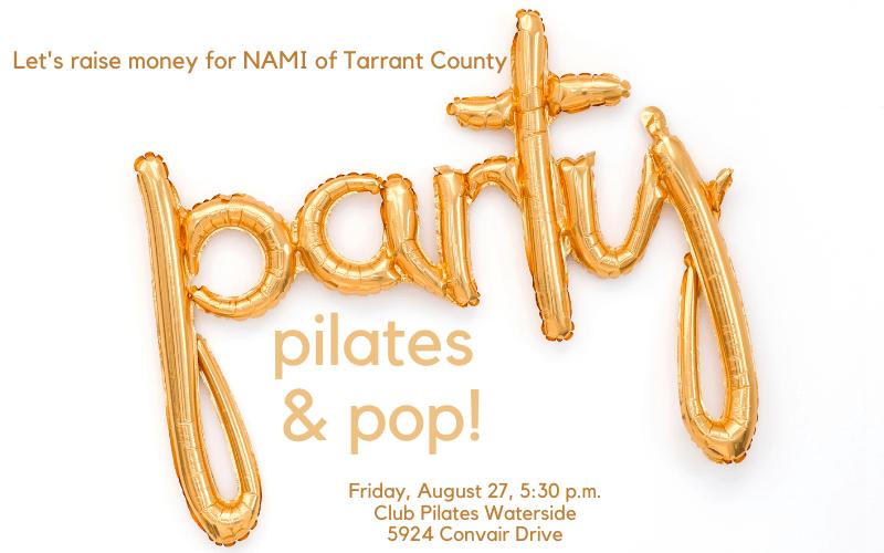 Pop and Pilates – Fundraiser for NAMI Tarrant County