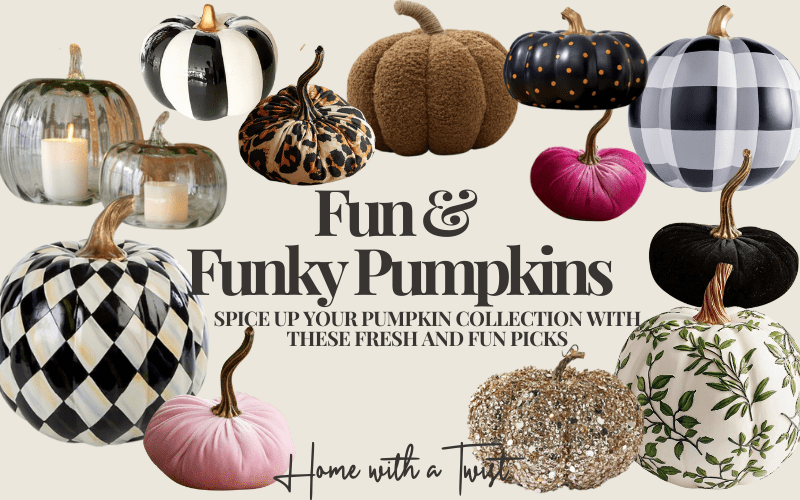 Spice Up Your Pumpkin Collection