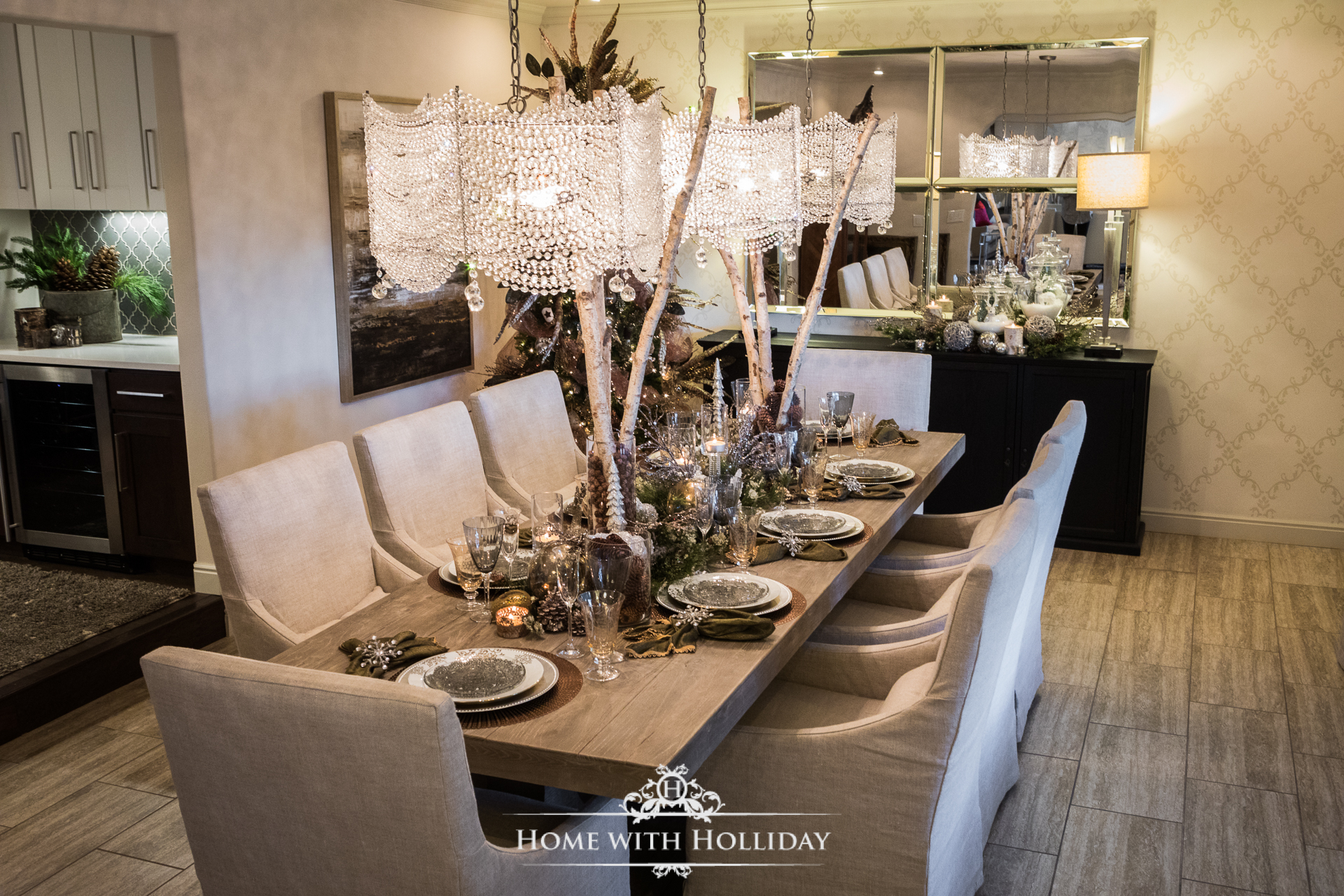 include my living room decor kitchen and breakfast room decor basement decorations my christmas trees and some gift wrapping inspirations - Breakfast Room Decor