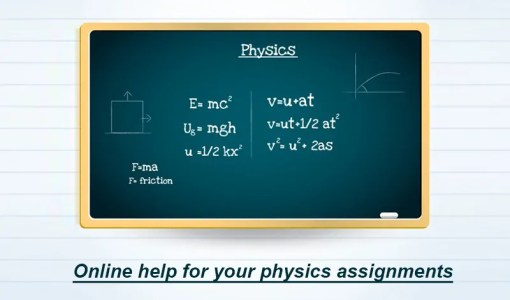 online help for physics assignment